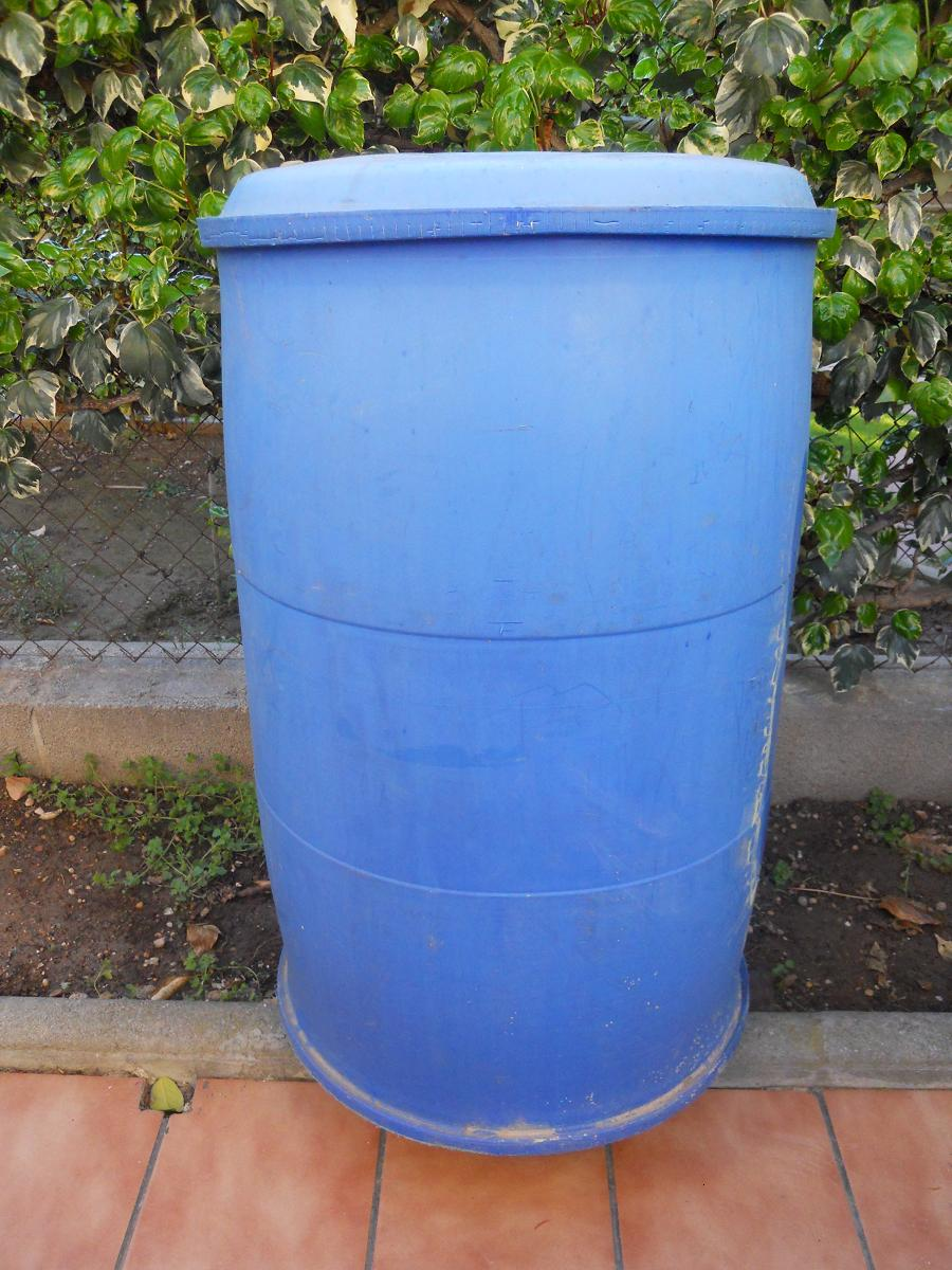 Dep sito para recoger agua de lluvia como poner grifo - Recoger agua lluvia ...