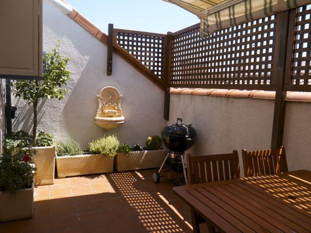 Mi casa decoracion plantas para terraza muy soleada - Pisos con encanto madrid ...