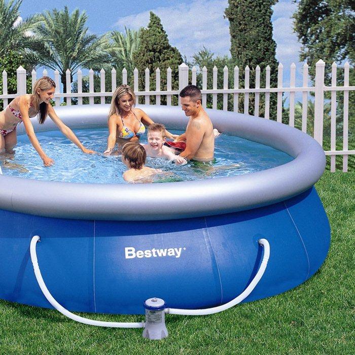 Piscina inflable con agujeritos c mo localizarlos y repararlos - Parches para piscinas desmontables ...