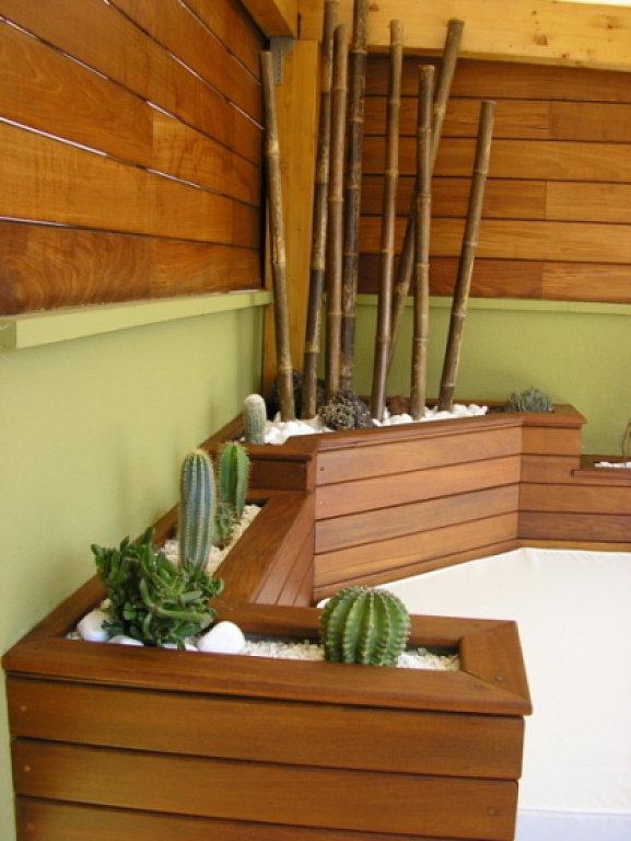 Jardineras de madera quiero construir como las de las foto - Tipos de jardineras ...