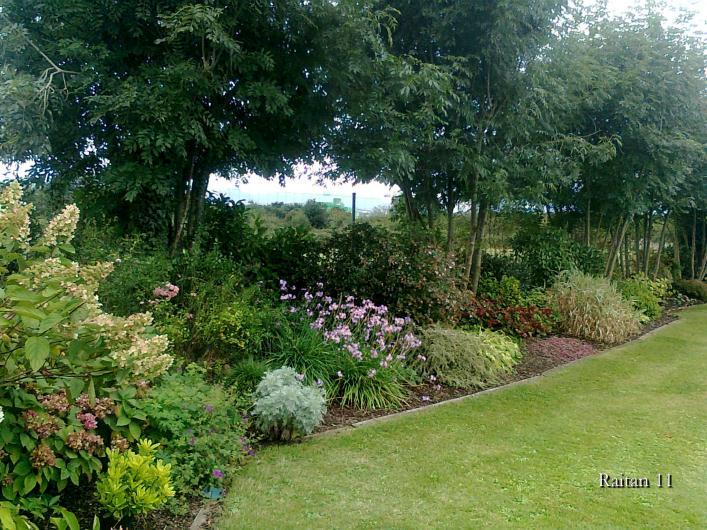 Dise o de jard n con hasta 100 cm de hormig n en el - Arriate jardin ...