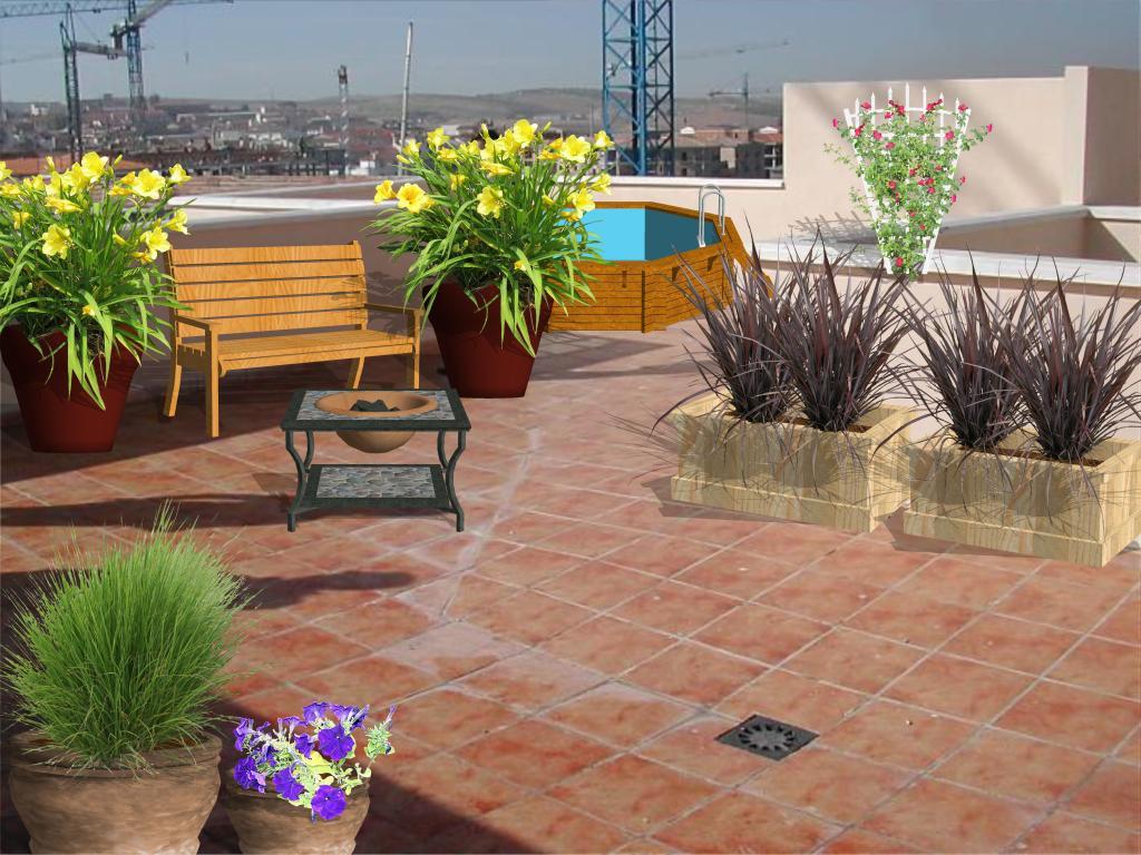 Decorar y amueblar terraza tico en granada p gina 2 - Decorar terrazas aticos ...