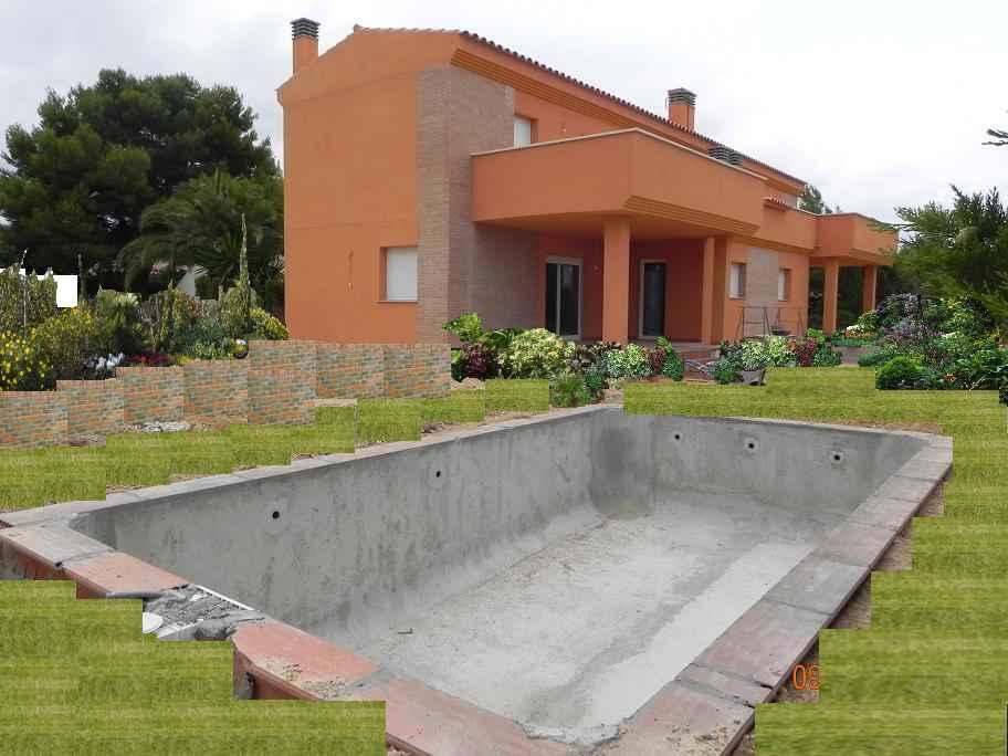 Jard n con piscina en tarragona por hacer p gina 4 - Camping con piscina climatizada en tarragona ...