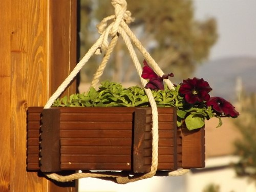 Venta de jardineras y maceteros de madera - Maceteros para terrazas ...