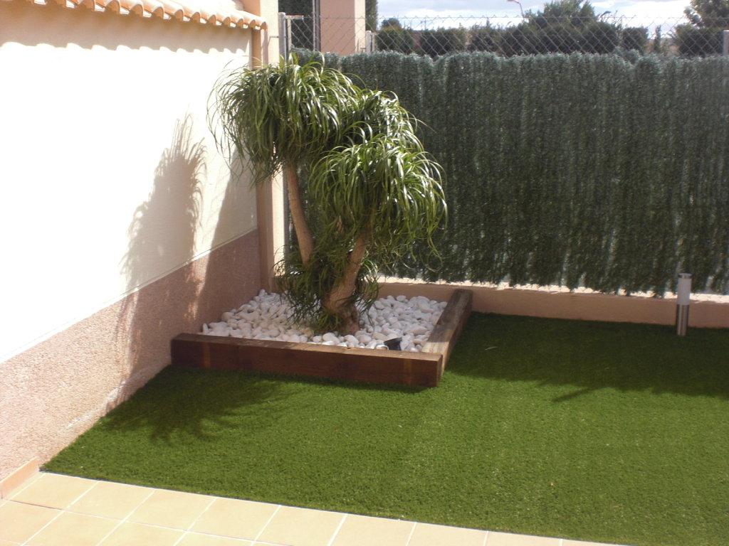 Re como decorar mi jard n trasero pictures to pin on pinterest for Como puedo decorar mi jardin