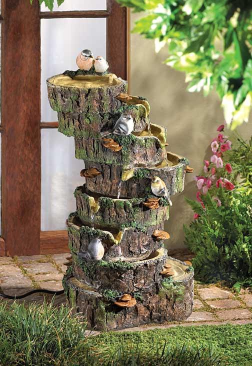 Cascadas Y Fuentes Para El Jardin Recopilacion De Fotografias - Fuentes-ornamentales-para-jardin