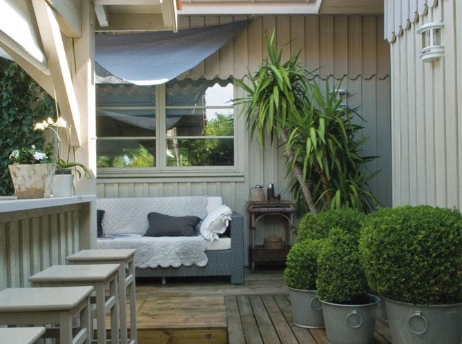 Fotos de r sticos estilo r stico jard n piscina for Esterno in stile country francese