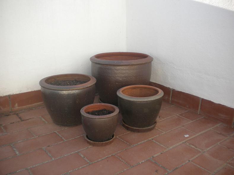 Venta de macetas para terrazas balcones o patios - Macetas para patios ...