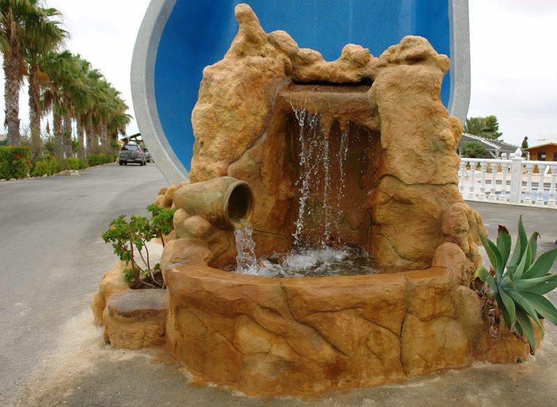 Fuentes agua jardines fotos - Fuentes y cascadas de agua para jardin ...